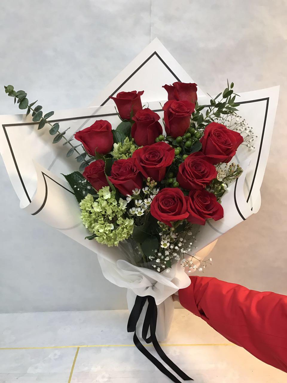 Magnificent Korean Flower Bouquet Photo - Best Evening Gown ...